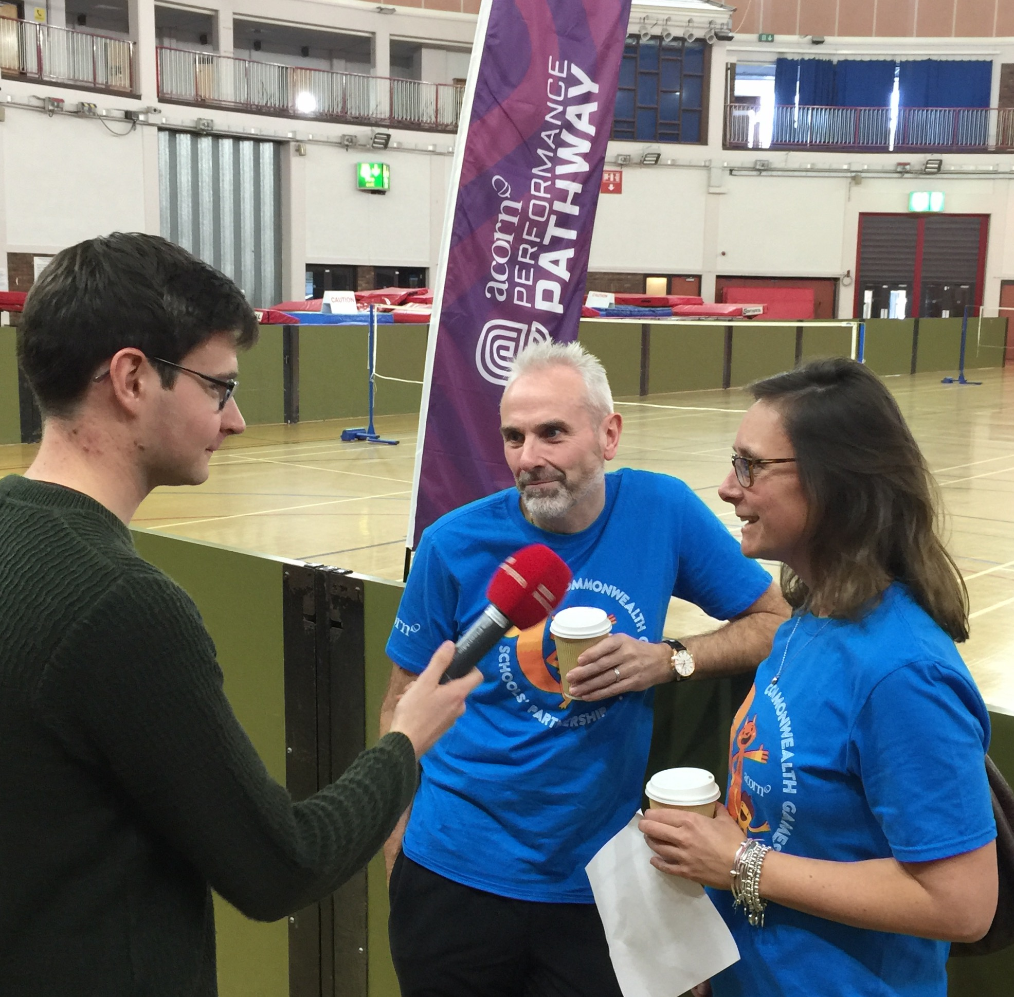 Kevin Harris & Nicky de Veulle from Acorn discuss the initiative with BBC Radio Jersey